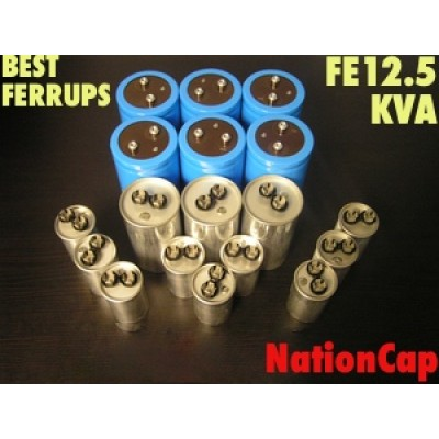 AC and DC Capacitors and Fans Upgrade Kit for Best Ferrups FE12.5KVA UPS USA Model 208vac/480vac