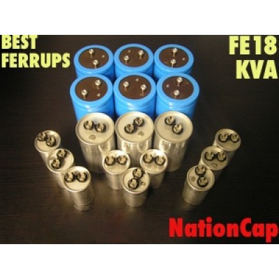 AC and DC Capacitors and Fans Upgrade Kit for Best Ferrups FE18KVA UPS USA Model 208Vac/480Vac