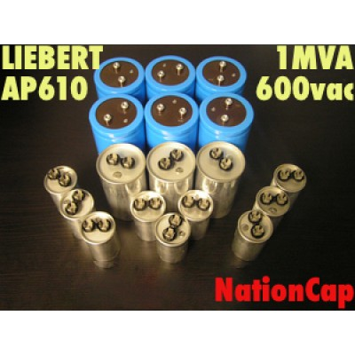 AC and DC Capacitors and Fans Upgrade Kit for Liebert AP610 1MVA UPS 600VAC