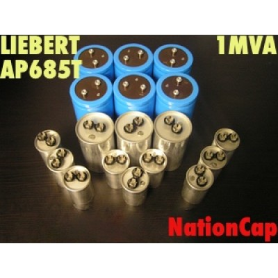 AC and DC Capacitors and Fans Upgrade Kit for Liebert AP685T 1MVA UPS USA Model 208vac/480vac