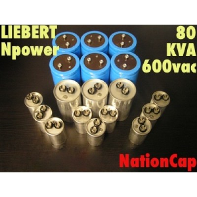 AC and DC Capacitors and Fans Upgrade Kit for Liebert Npower 80KVA UPS Model 600Vac