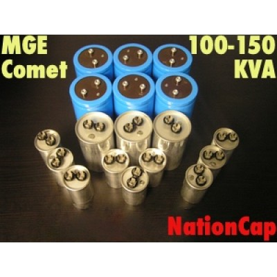 AC and DC Capacitors and Fans Upgrade Kit for MGE Comet 100-150KVA UPS USA Model 208Vac/480Vac