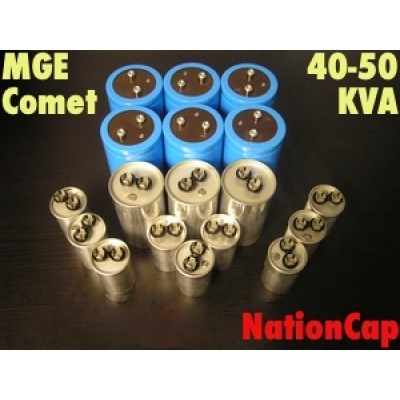 AC and DC capacitors and Fans Upgrade Kit for MGE Comet 40-50KVA UPS USA Model 208vac/480vac