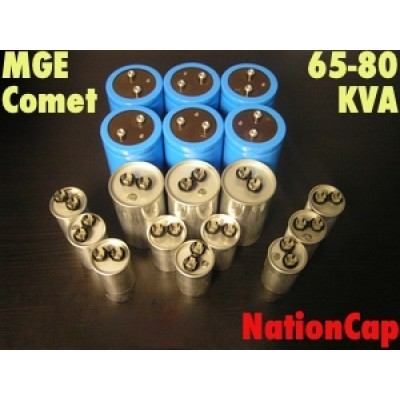 AC and DC Capacitors and Fans Upgrade Kit for MGE Comet 65-80KVA UPS USA Model 208Vac/480Vac