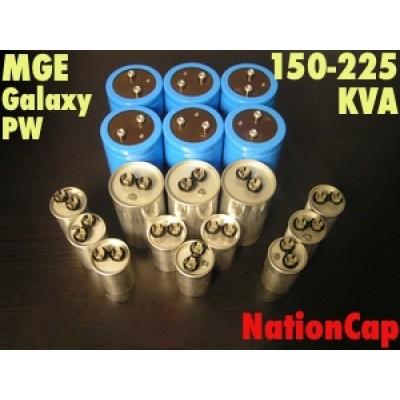 AC and DC capacitors and Fans Upgrade Kit for MGE PW 150-225KVA UPS USA Model 208vac/480vac